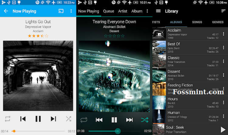 GoneMAD Music Player For Android
