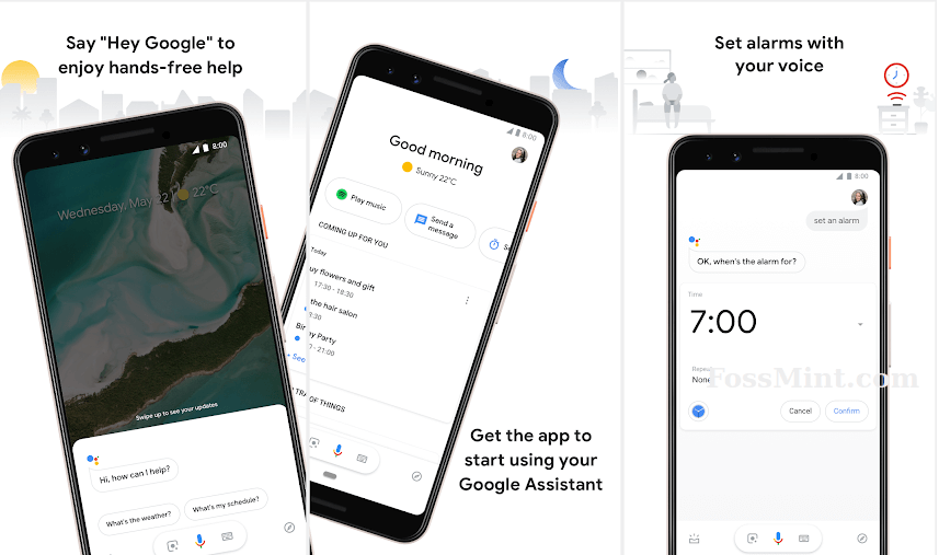 Google Assistant - Android Dictation App