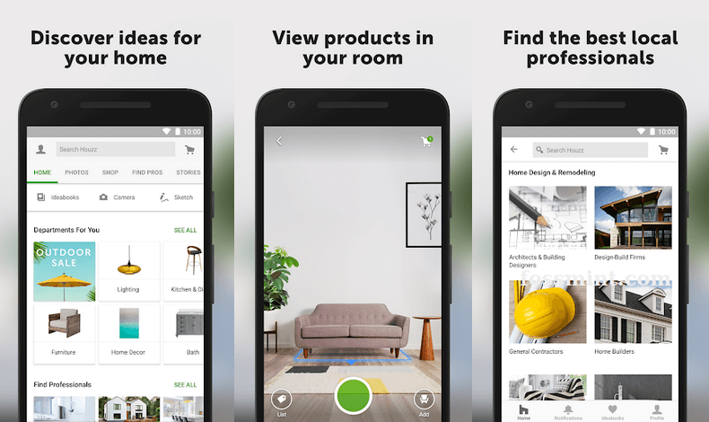 Houzz - Android App Of May 2020