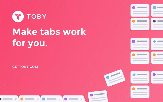 Toby for Chrome - Chrome Extension