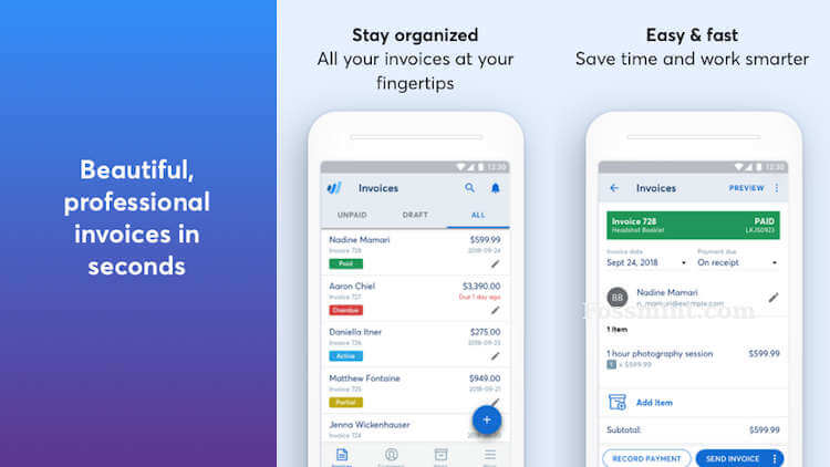 Wave - Invoicing App For Android