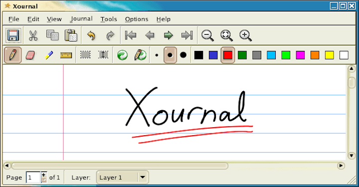 Xournal - Sketching and Note-Taking App