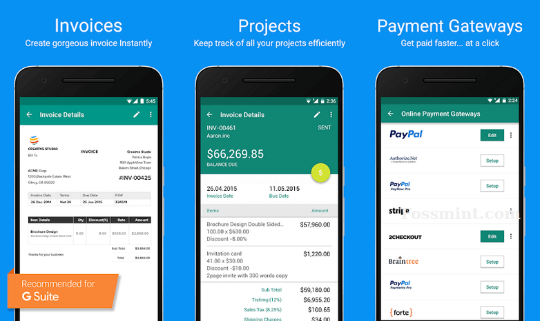 Zoho Invoice - Invoicing App For Android