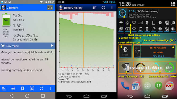 2 Battery - Battery Saver App for Android