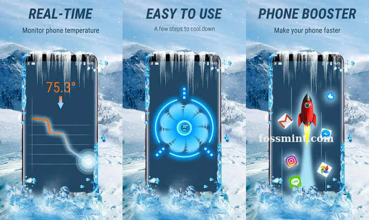 CPU Cooler - Battery Saver App for Android