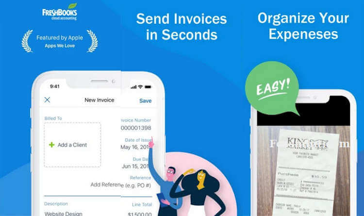 FreshBooks - Invoicing App For Android