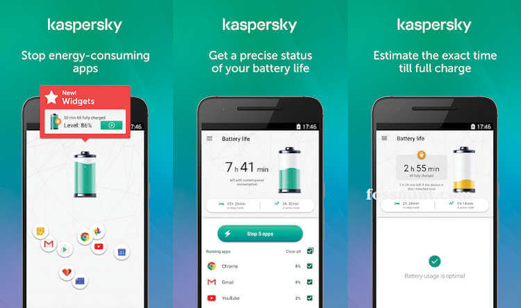 Kaspersky Battery Life - Battery Saver App for Android