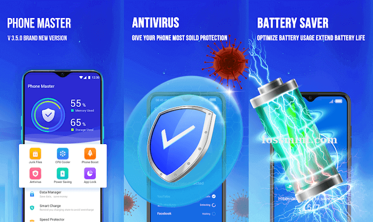 Phone Master - Battery Saver App for Android