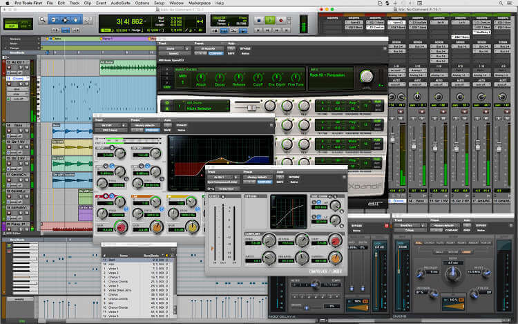 Pro Tools First - Daw for Mac