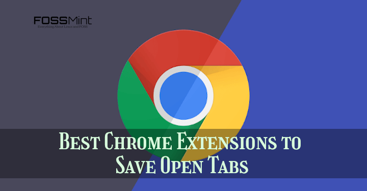 Save Open Tabs in Chrome Browser