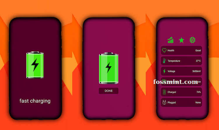 Ultra Fast Charger - Battery Saver App for Android