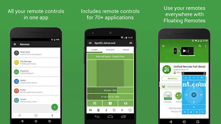 Unified Remote - Android App