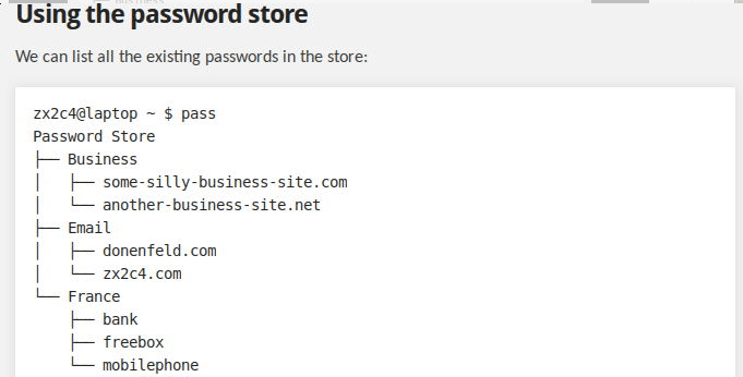 Pass Password Manager
