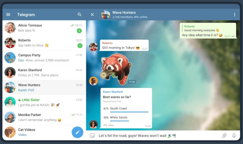 Telegram - Team Chat Software