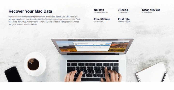EaseUS Data Recovery Backup Tool for Mac