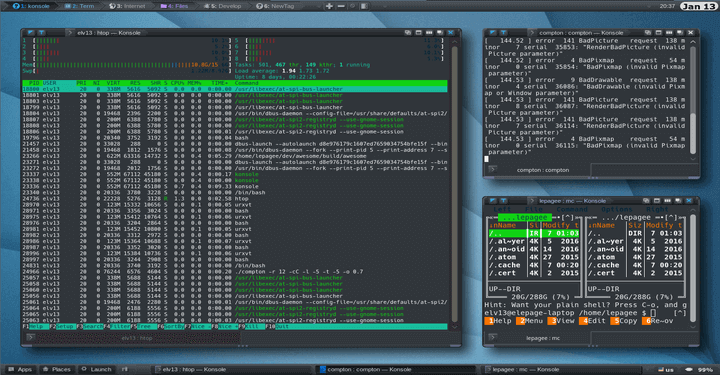 Awesome Window Manager for Linux