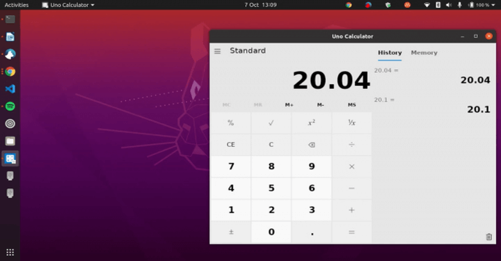 Install Microsoft Windows Calculator on Linux