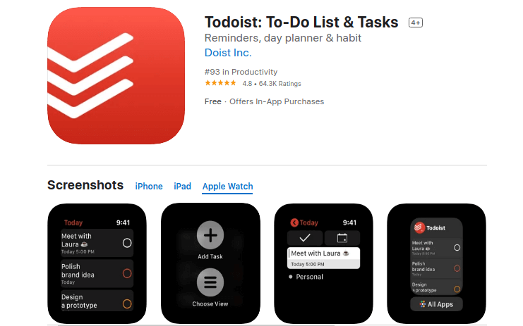 Todoist:- To-Do List and Tasks