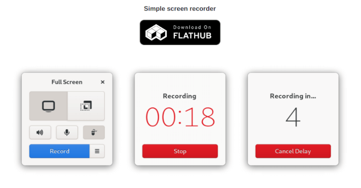Kooha Simple Screen Recorder