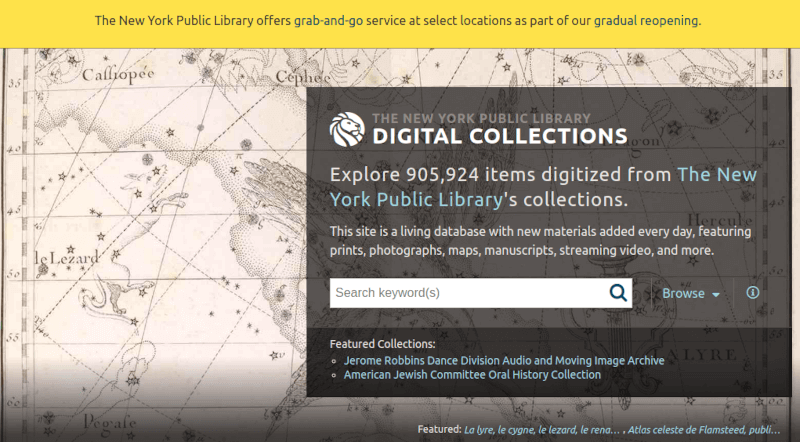 NYPL Digital Collections - Historical Image Search
