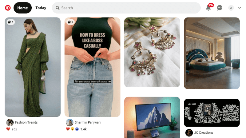 Pinterest - Visual Search Tool