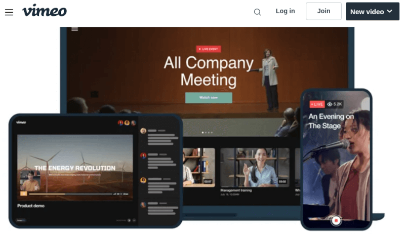 Vimeo - All in One Video Solution