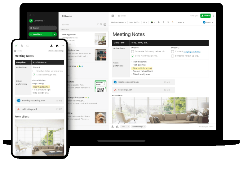 Evernotes - Organize Your Notes