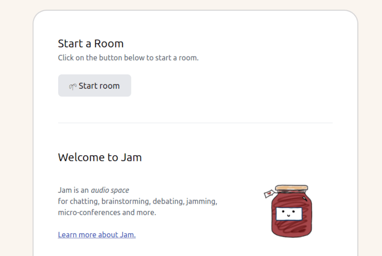 Jam - Audio Space Chat Room