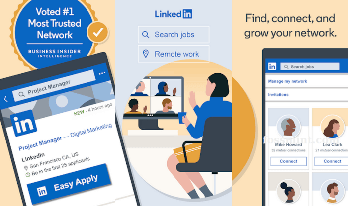 LinkedIn - Business News and Networking