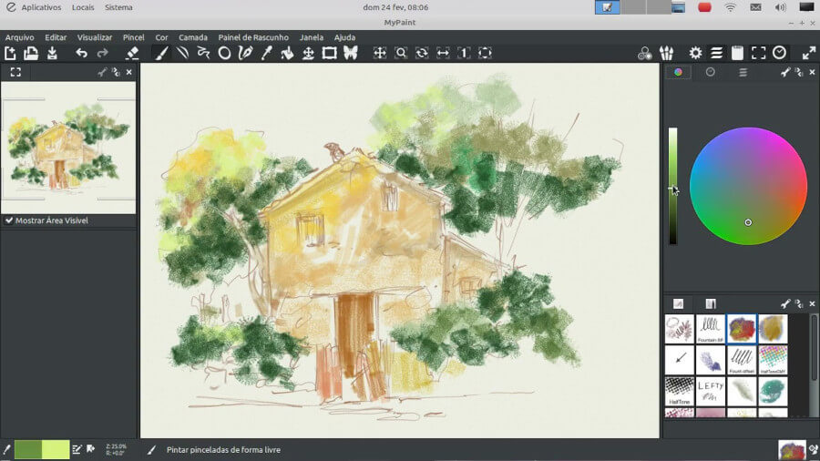 MyPaint - Editor for Digital Painting